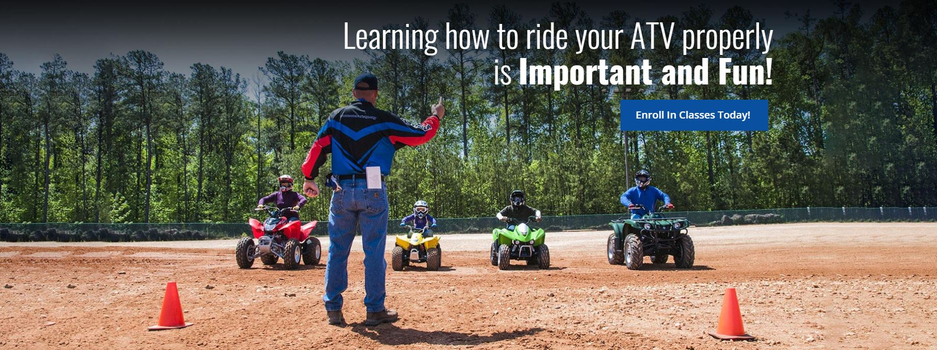 ATV Safety Institute Banner
